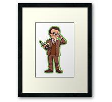 Rupert Giles (Season 1) Framed Print