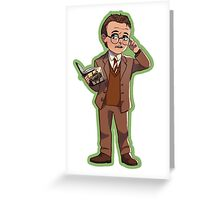 Rupert Giles (Season 1) Greeting Card