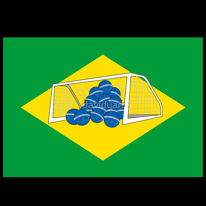 Brazil's New Flag by davidyarb