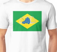 Brazil's New Flag Unisex T-Shirt
