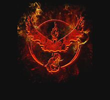 Team Valor pokemon go flames red Unisex T-Shirt