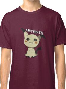 Pokemon Sun Moon Mimikkyu Classic T-Shirt