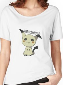 Pokemon Sun Moon Mimikkyu Women's Relaxed Fit T-Shirt