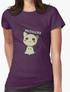 Pokemon Sun Moon Mimikkyu Womens Fitted T-Shirt