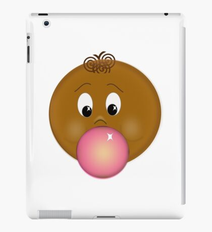 chewing gum iPad Case/Skin