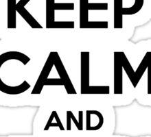 Soul Eater - Keep Calm Sticker