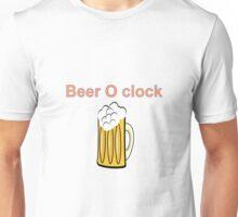 beer clock Unisex T-Shirt