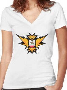Brave the Storm Women's Fitted V-Neck T-Shirt