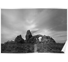 Arches NP X BW Poster
