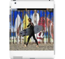 Surfing colors iPad Case/Skin