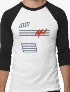 Bruce Wayne Shirt - Kenner 1990 Batman Action Figure Men's Baseball ¾ T-Shirt