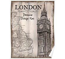 Vintage Travel Poster London Poster
