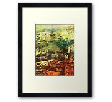 Abstract Industrial by rafi talby Framed Print