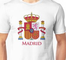 Madrid Shield of Spain Unisex T-Shirt