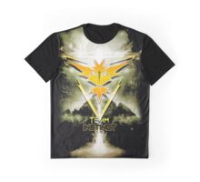 Team Instinct Yellow pokemon go Graphic T-Shirt
