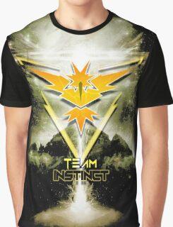 Team Instinct Yellow pokemon go Graphic T-Shirt