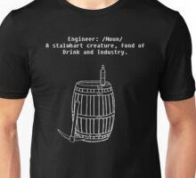 Dwarven Engineering Unisex T-Shirt
