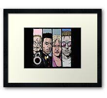 Preacher - Characters Framed Print