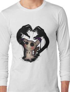 [POKEMON] Mimikyu . : ver. 1 : . Long Sleeve T-Shirt