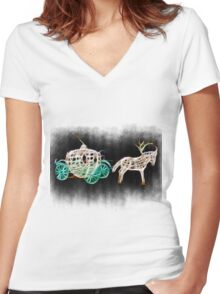 Bring me there Women's Fitted V-Neck T-Shirt