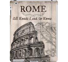 Vintage Travel Poster Rome iPad Case/Skin