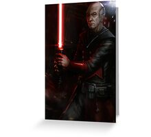 Picard the Sith Greeting Card