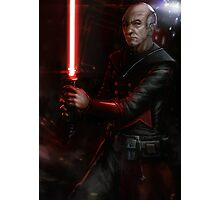 Picard the Sith Photographic Print