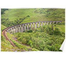 Glenfinnian Viaduct Poster