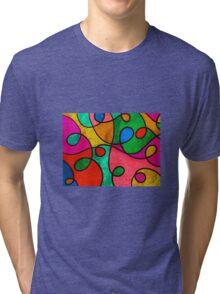 squiggles Tri-blend T-Shirt