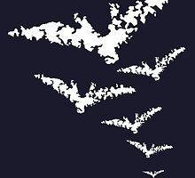 Chalk Bats by KnightsOfShame