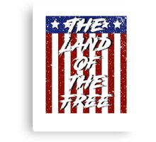 The Land of the Free Canvas Print