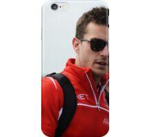 Jules Bianchi iPhone Case/Skin