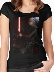 Picard the Sith Women's Fitted Scoop T-Shirt