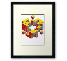 Plaid - Scintilli Framed Print
