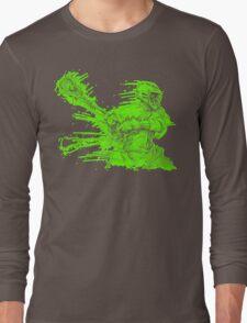 Crank (Neon Outline) Long Sleeve T-Shirt