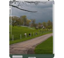 Spring in Amish Country. iPad Case/Skin