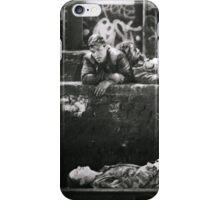 Train Gang - King's Cross Squatters #1 (London) iPhone Case/Skin