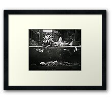Train Gang - King's Cross Squatters #1 (London) Framed Print