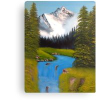 mountain scene Canvas Print