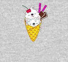 Polar Bear Ice Cream – Shhh, they're sleeping! Zipped Hoodie