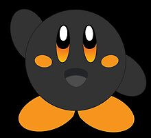 Carbon Kirby - Orange Eyes by MusicandWriting