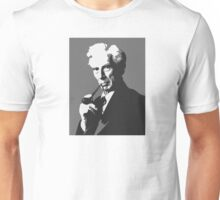 Thinkers - Bertrand Russell (gray) Unisex T-Shirt