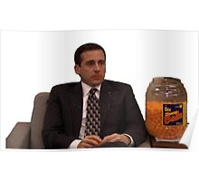 Michael Scott Cheesy Poofs Poster