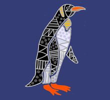 Cool Funky Emperor Penguin Art Unisex T-Shirt
