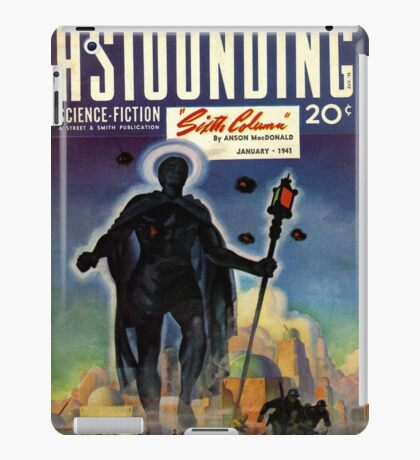 astounding science fiction iPad Case/Skin
