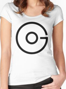 Go.Black Women's Fitted Scoop T-Shirt
