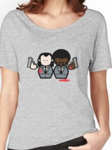 Jules and Vincent- Pulp Fiction Women's Relaxed Fit T-Shirt