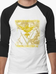 There is no shelter from the storm Pokemon go Men's Baseball ¾ T-Shirt
