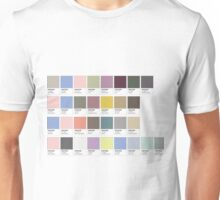 Colour Swatches Unisex T-Shirt