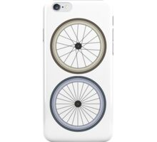 Fixie Two wheels iPhone Case/Skin